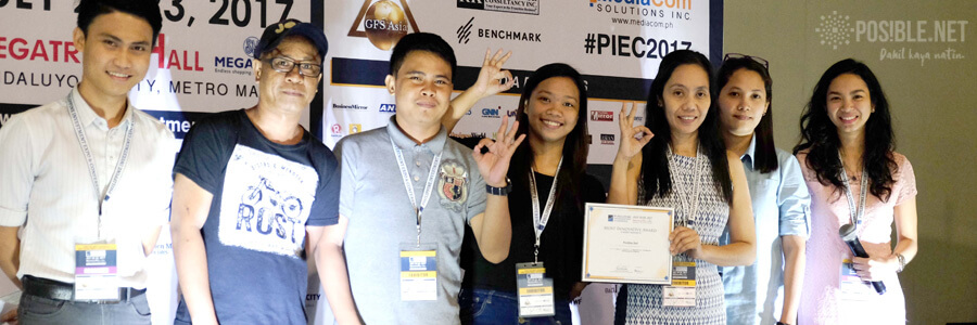 """POS!BLE.NET """"most innovative"""" in Investment Expo"""
