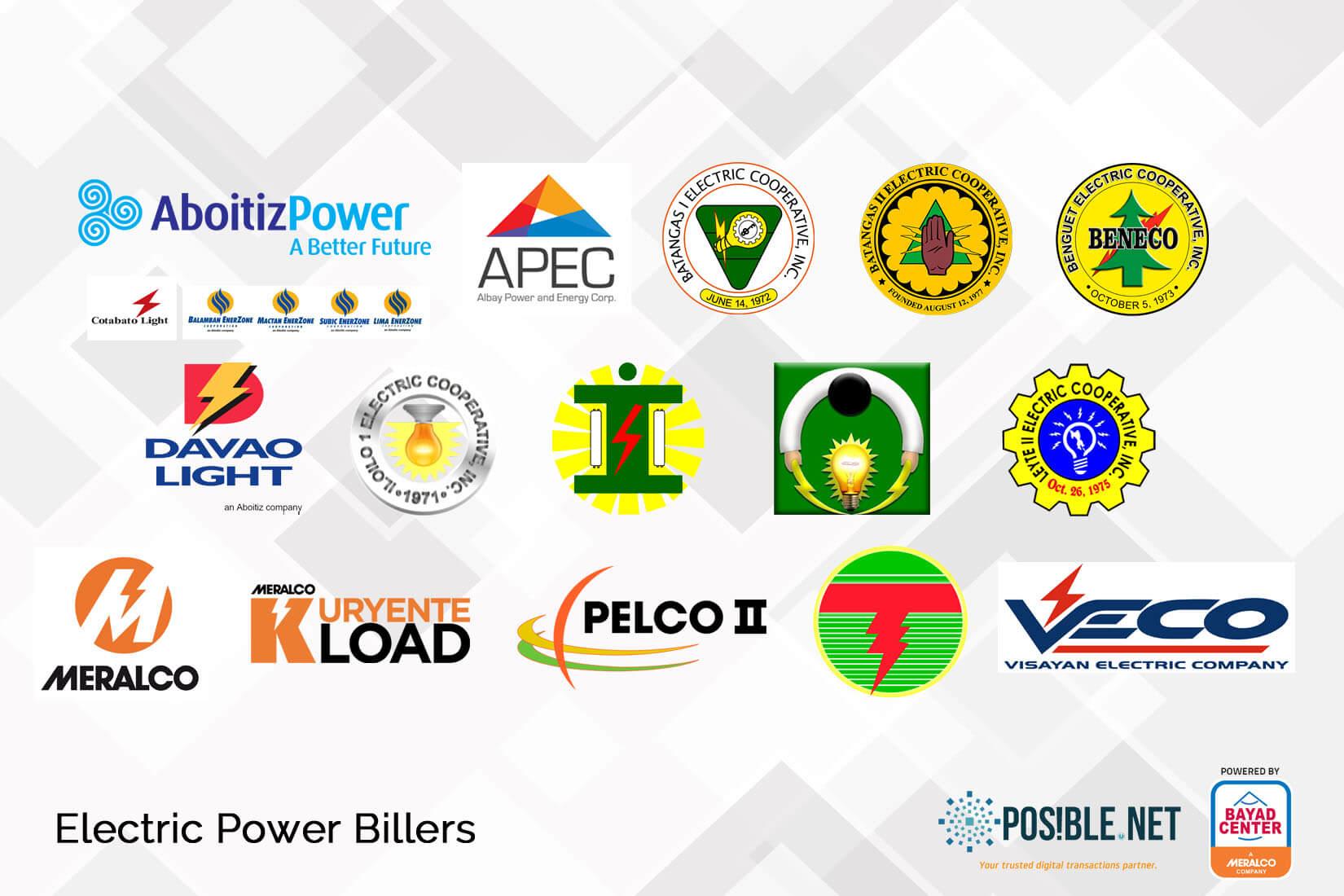 utility bills electric power