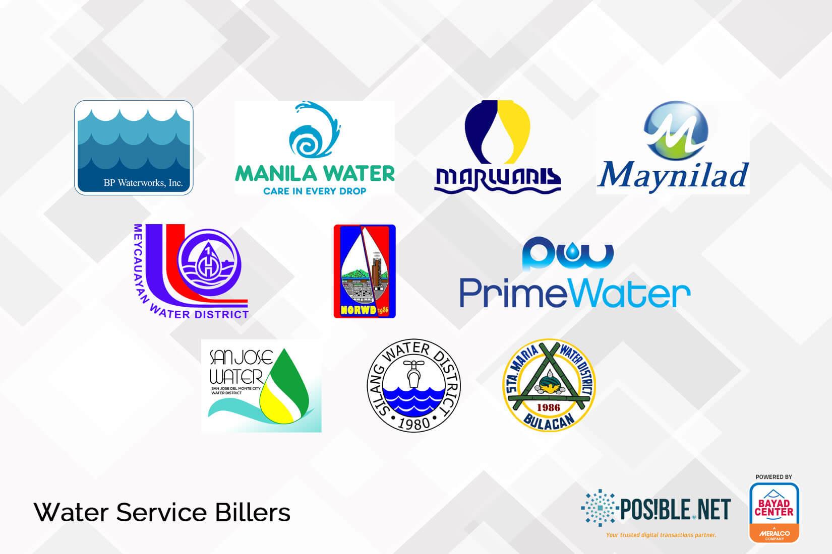 bills payment water utilities