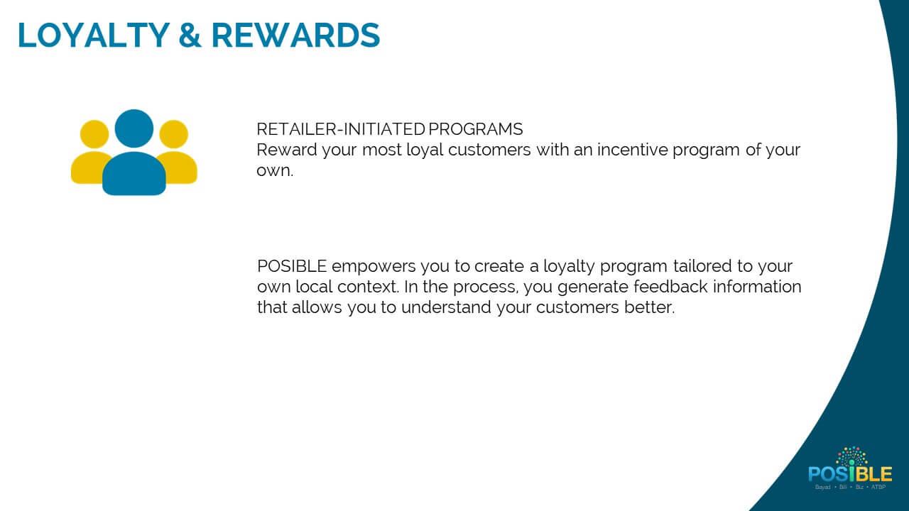 loyalty retailer initiated