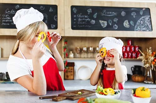 healthy diet for mom and child
