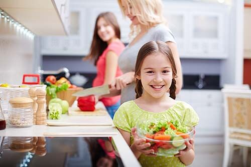 healthy diet with kids